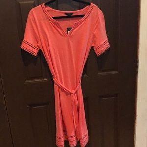Tommy Hilfiger short maxi dress